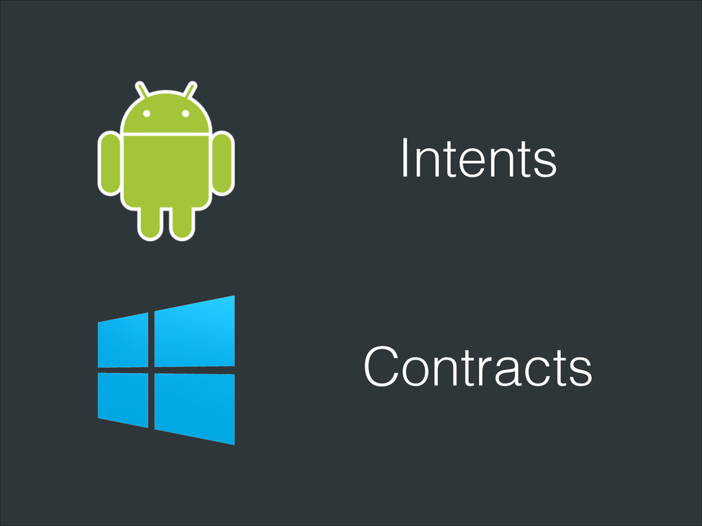 Intents Contracts