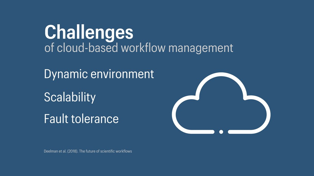 Challenges of cloud-based work low management D...