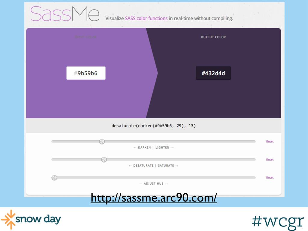 #wcgr Color Operations http://sassme.arc90.com/