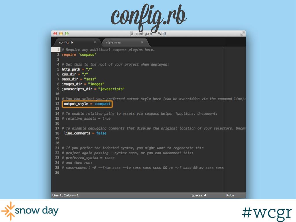 #wcgr config.rb #wcgr