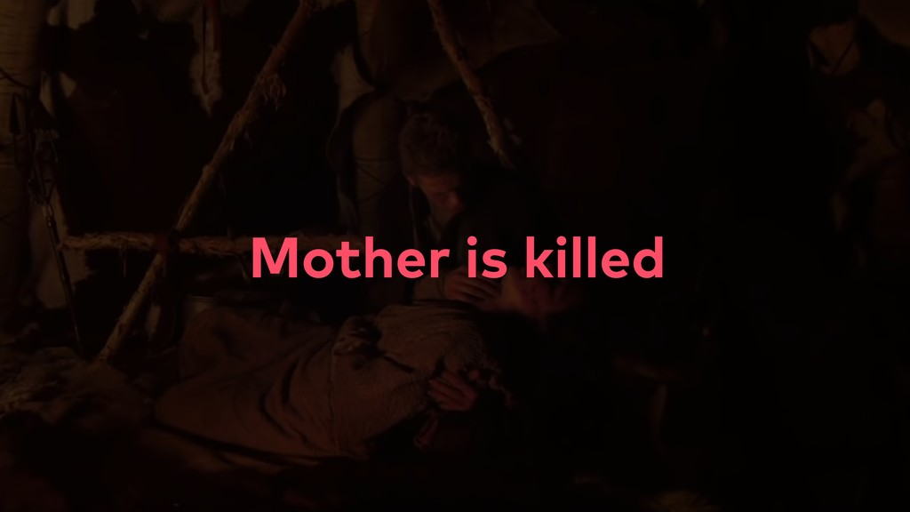 Mother is killed
