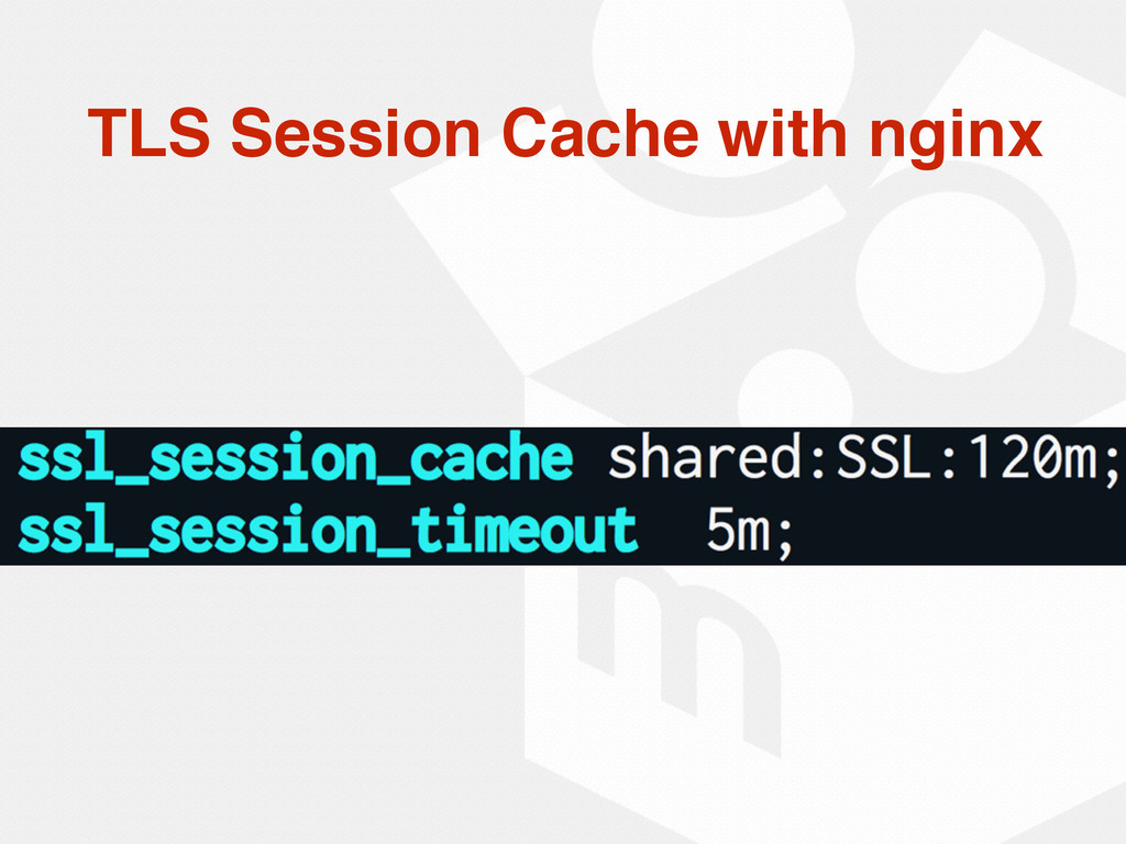 TLS Session Cache with nginx