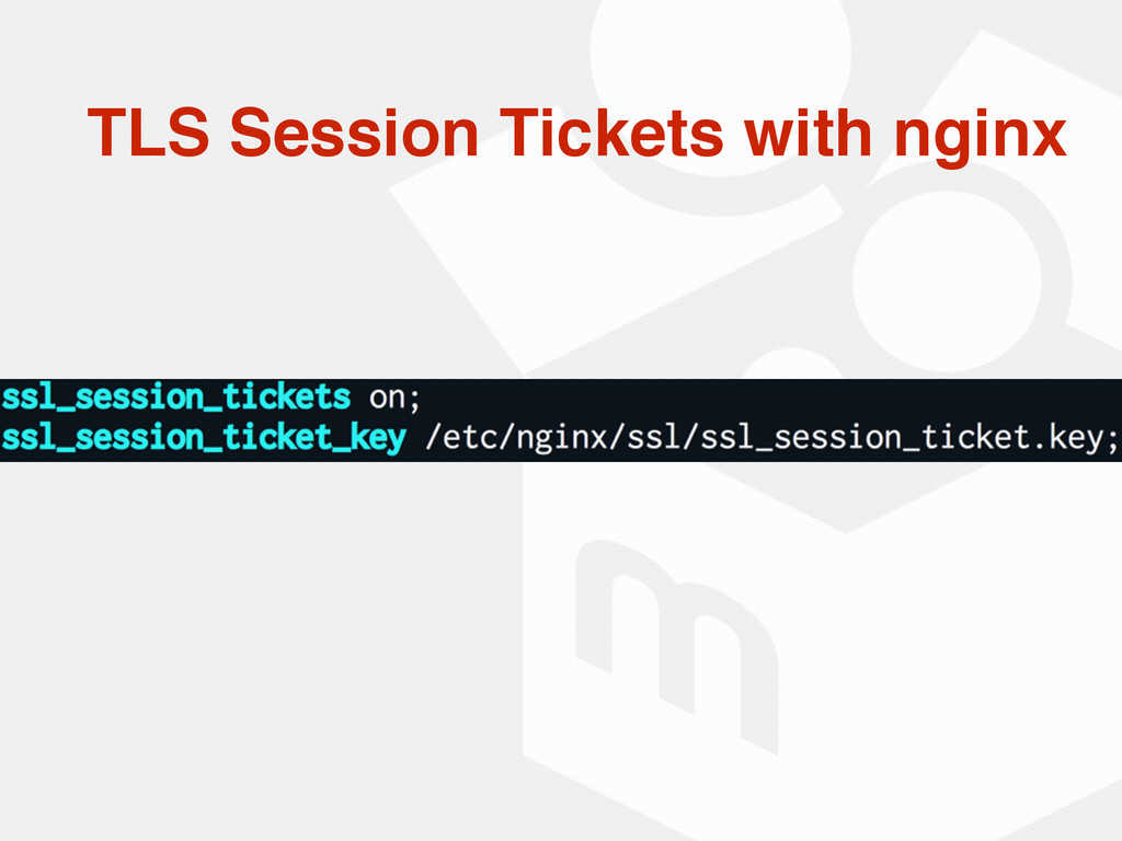TLS Session Tickets with nginx