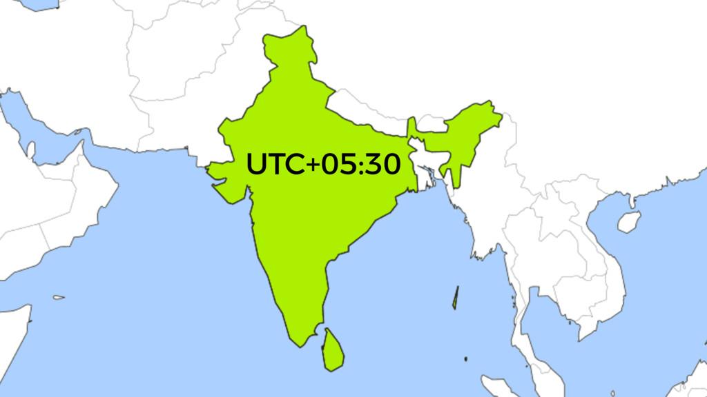 UTC+05:30