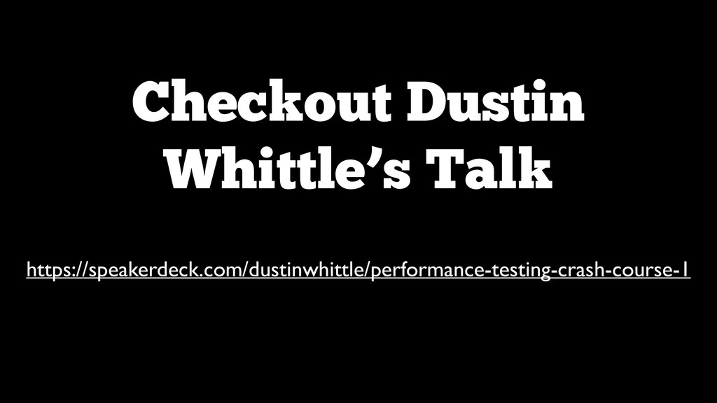 Checkout Dustin Whittle's Talk https://speakerd...