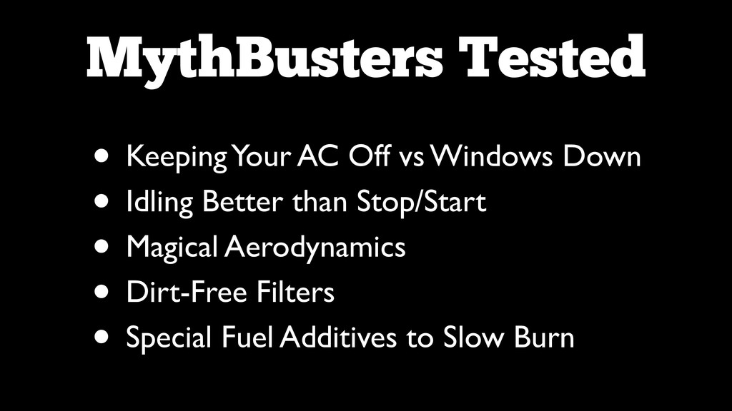 MythBusters Tested • Keeping Your AC Off vs Win...