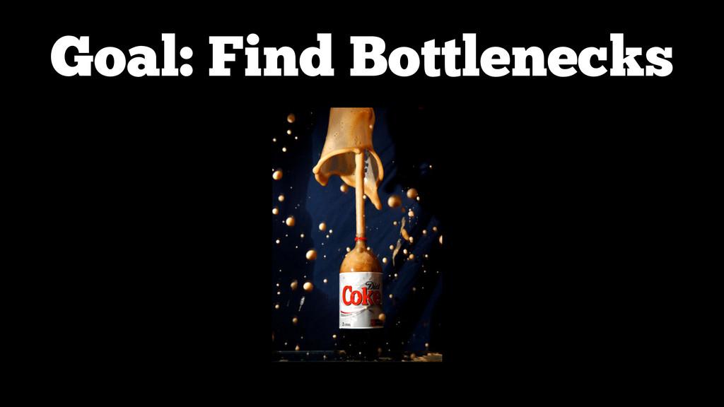 Goal: Find Bottlenecks