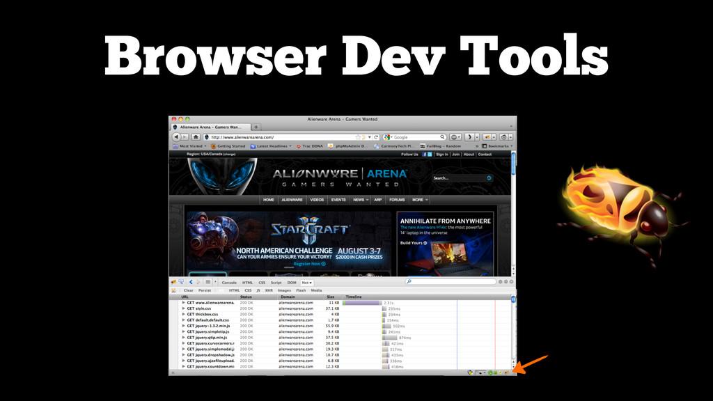 Browser Dev Tools