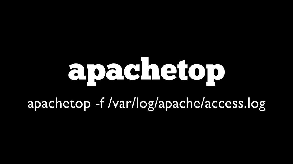 apachetop apachetop -f /var/log/apache/access.l...