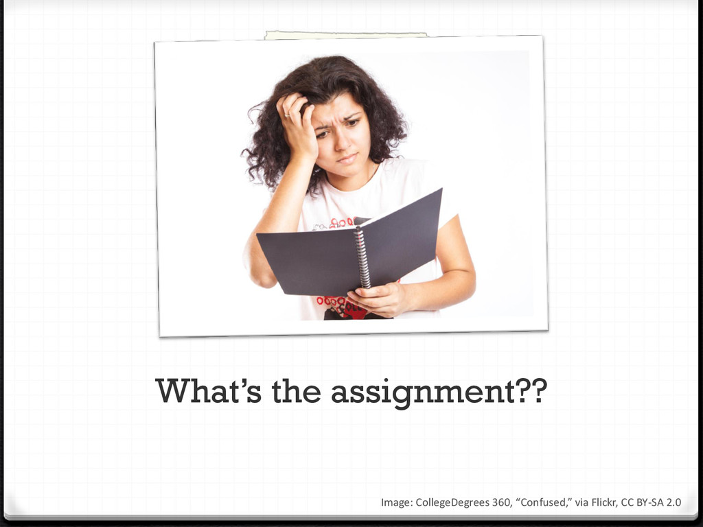 What's the assignment?? Image: CollegeDegrees 3...