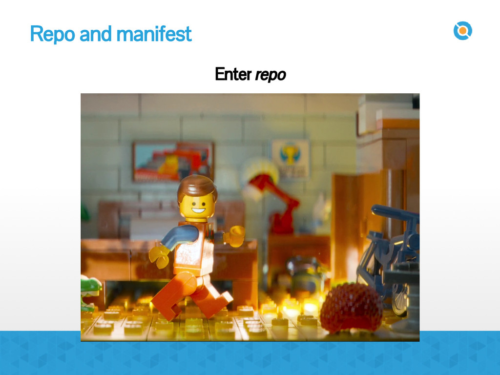 Repo and manifest Enter repo