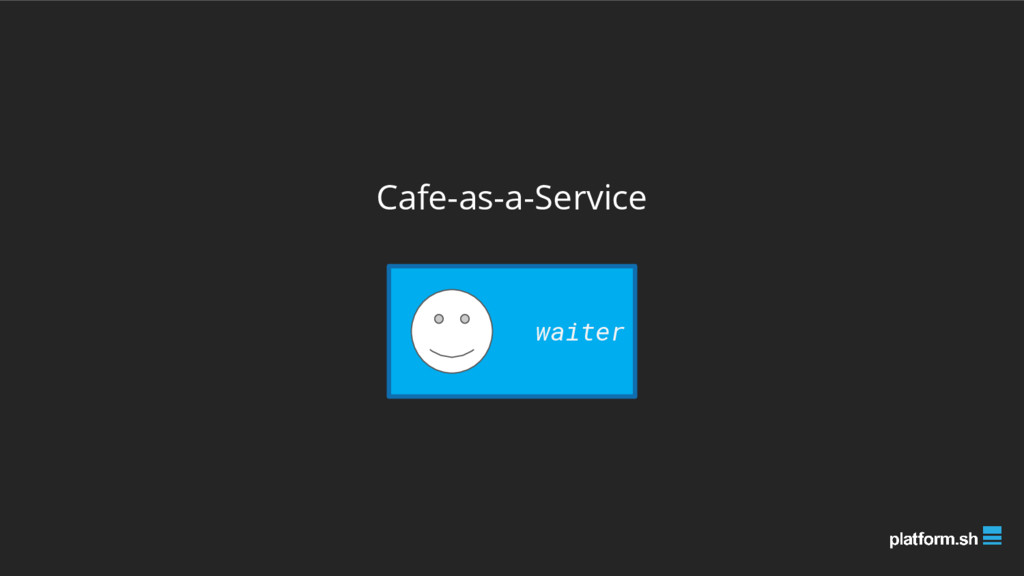 Cafe-as-a-Service waiter