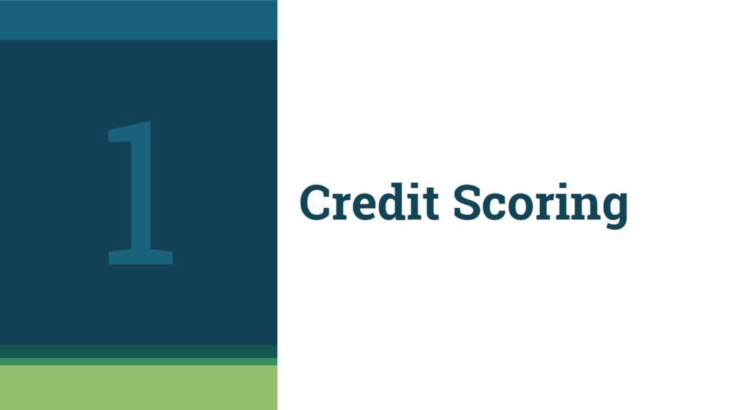 Credit Scoring 1