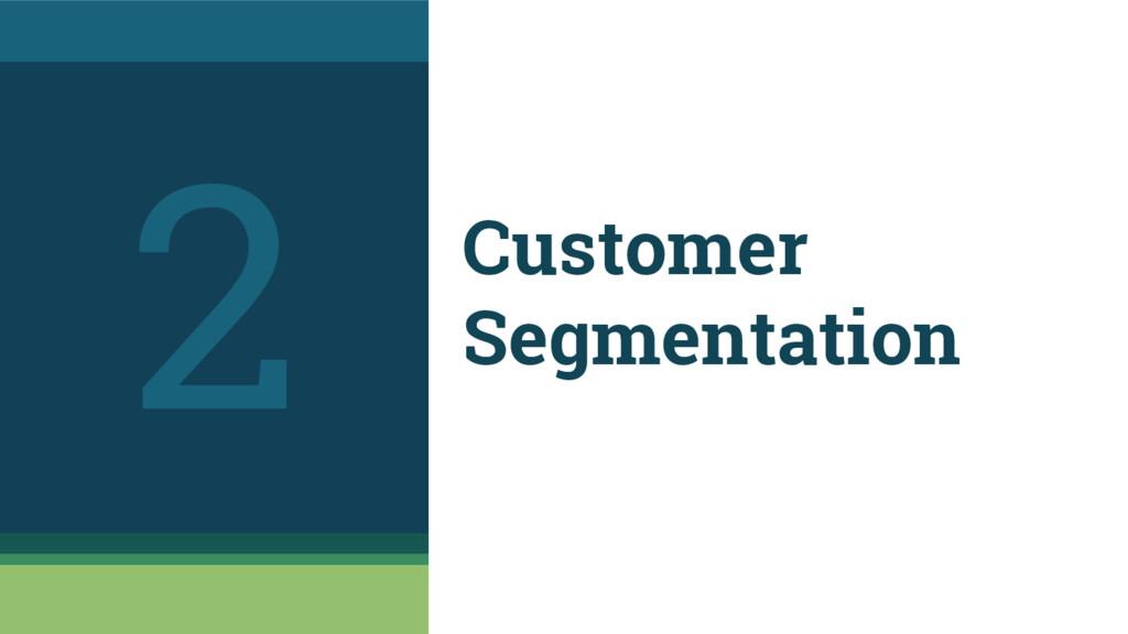 Customer Segmentation 2
