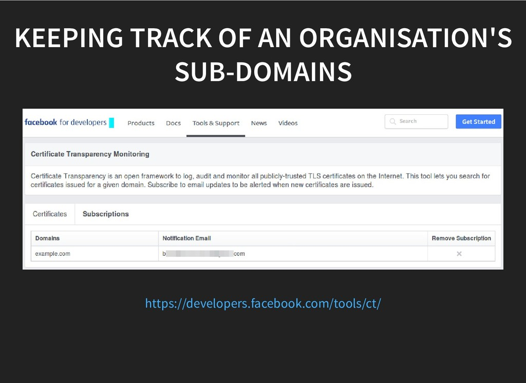 KEEPING TRACK OF AN ORGANISATION'S KEEPING TRAC...