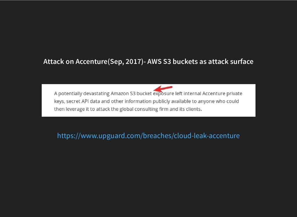 Attack on Accenture(Sep, 2017)- AWS S3 buckets ...