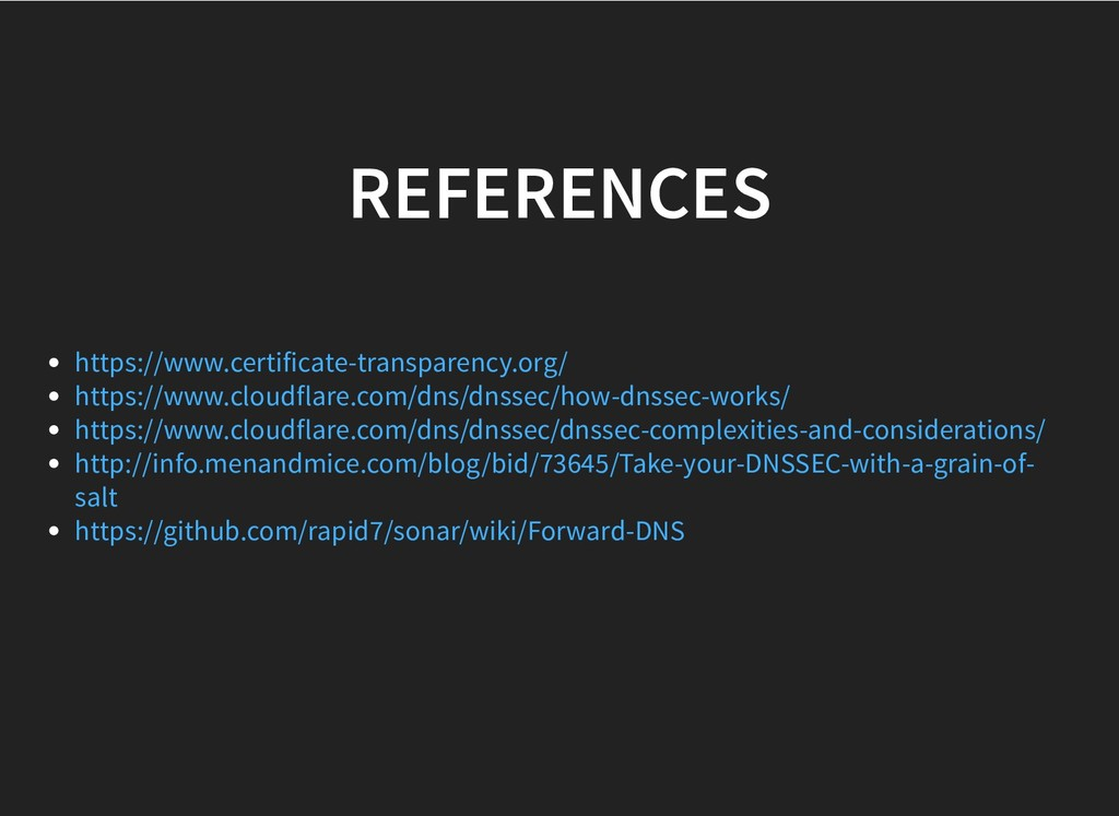 REFERENCES REFERENCES https://www.certificate-t...