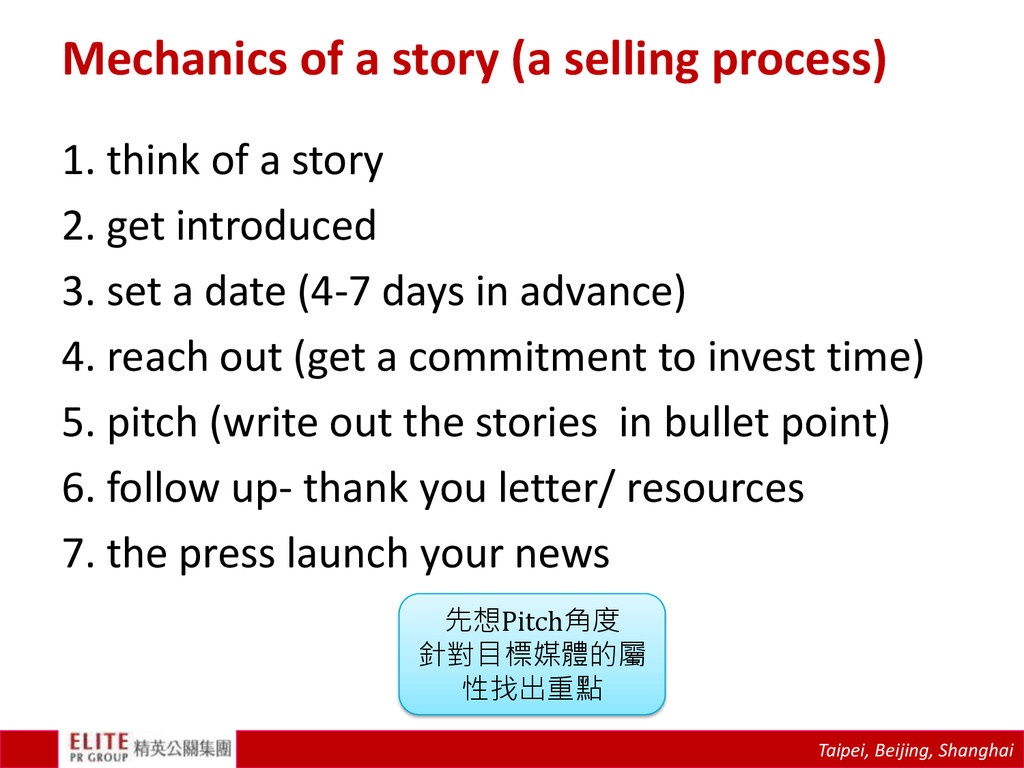 Taipei, Beijing, Shanghai Mechanics of a story ...