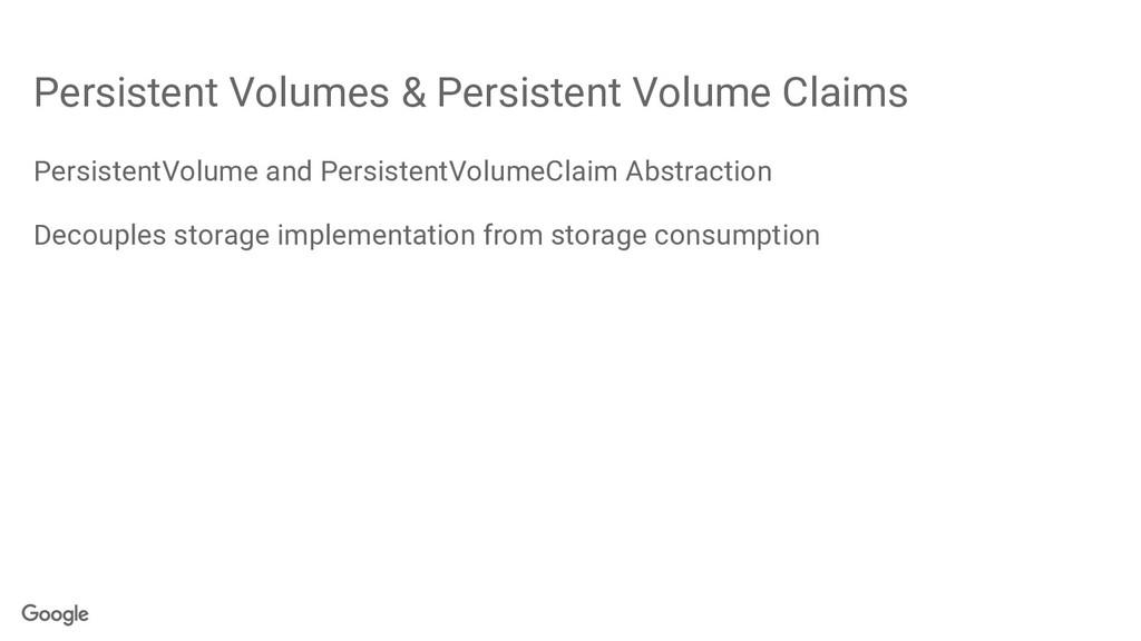 Persistent Volumes & Persistent Volume Claims P...