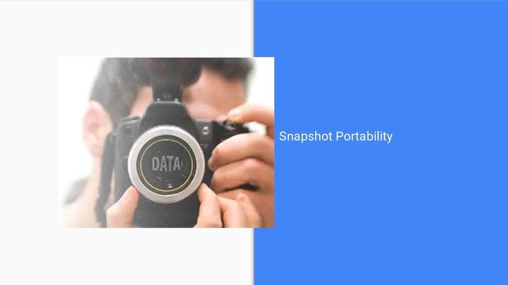 Snapshot Portability