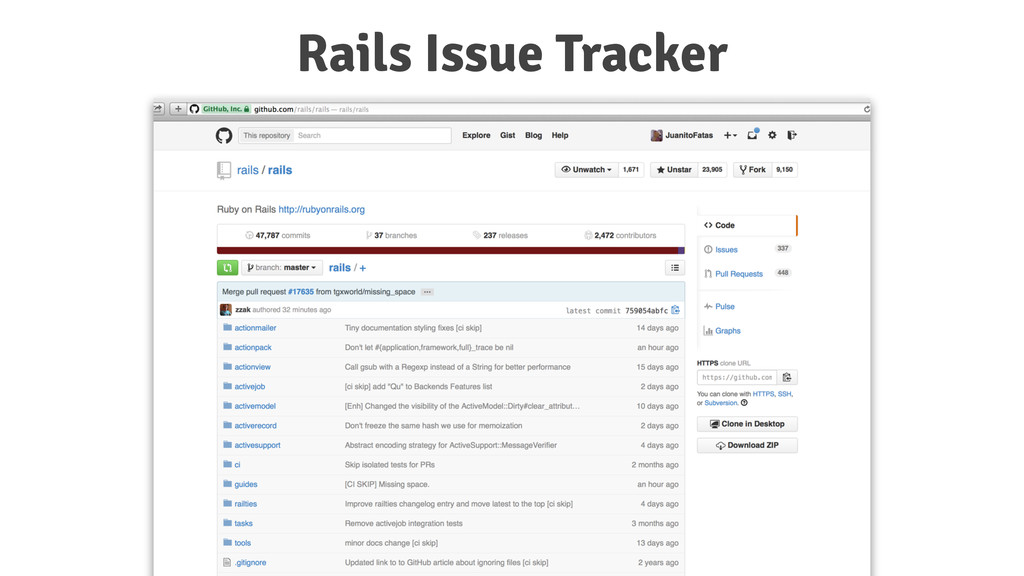 Rails Issue Tracker