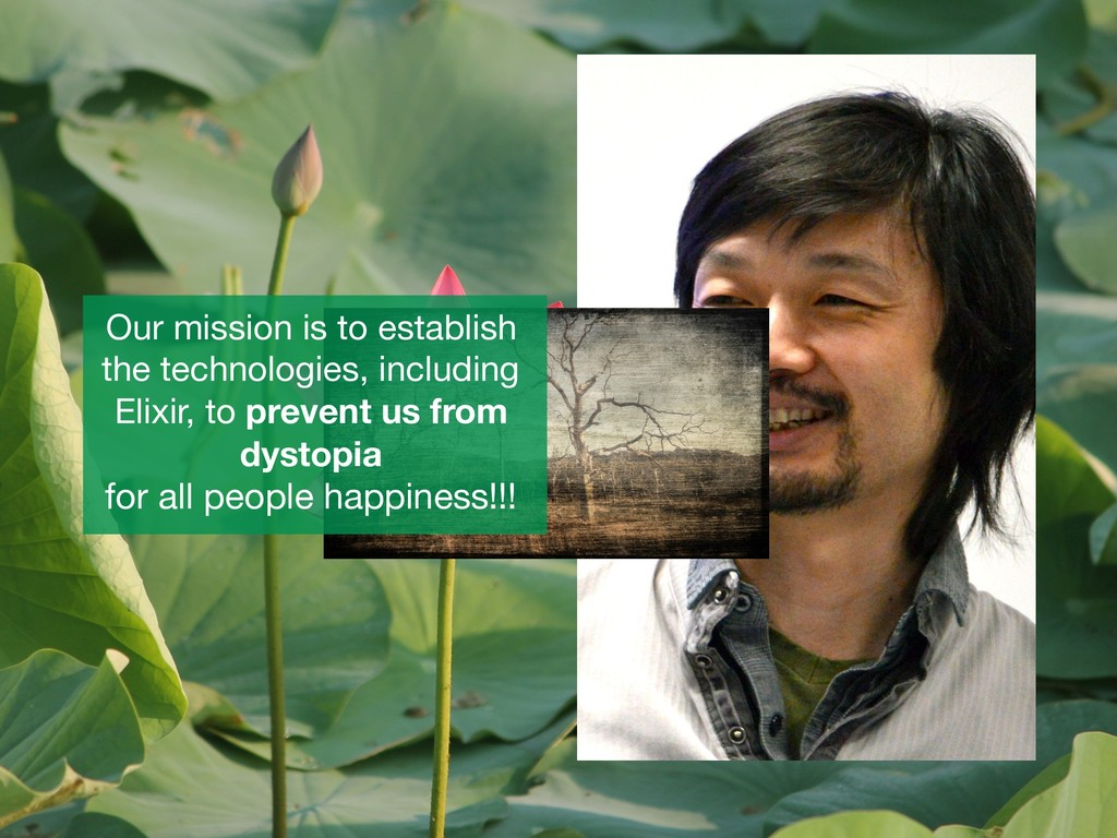 Our mission is to establish the technologies, i...
