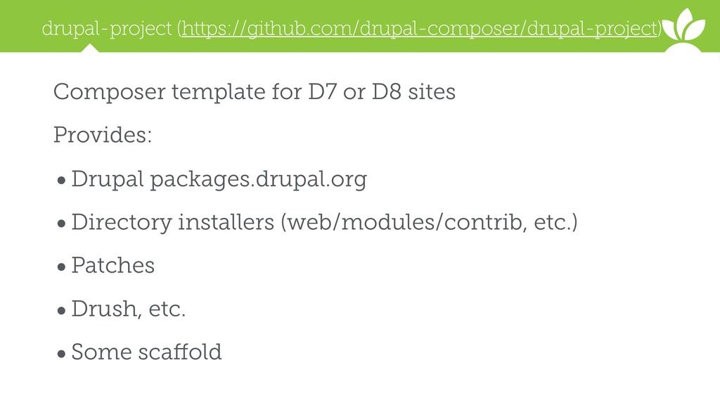 drupal-project (https://github.com/drupal-compo...