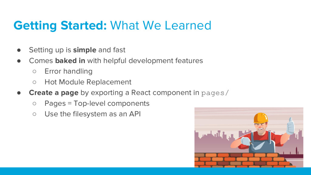 Getting Started: What We Learned ● Setting up i...