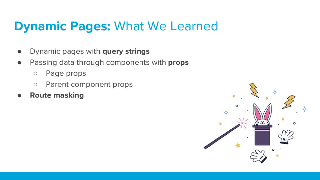 ● Dynamic pages with query strings ● Passing da...