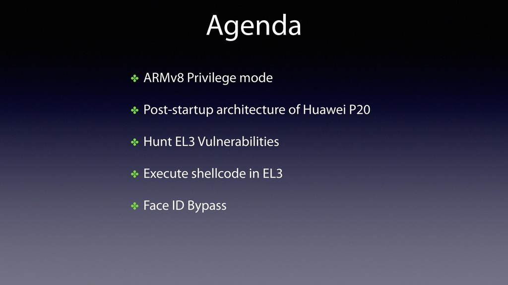 Agenda ✤ ARMv8 Privilege mode ✤ Post-startup ar...