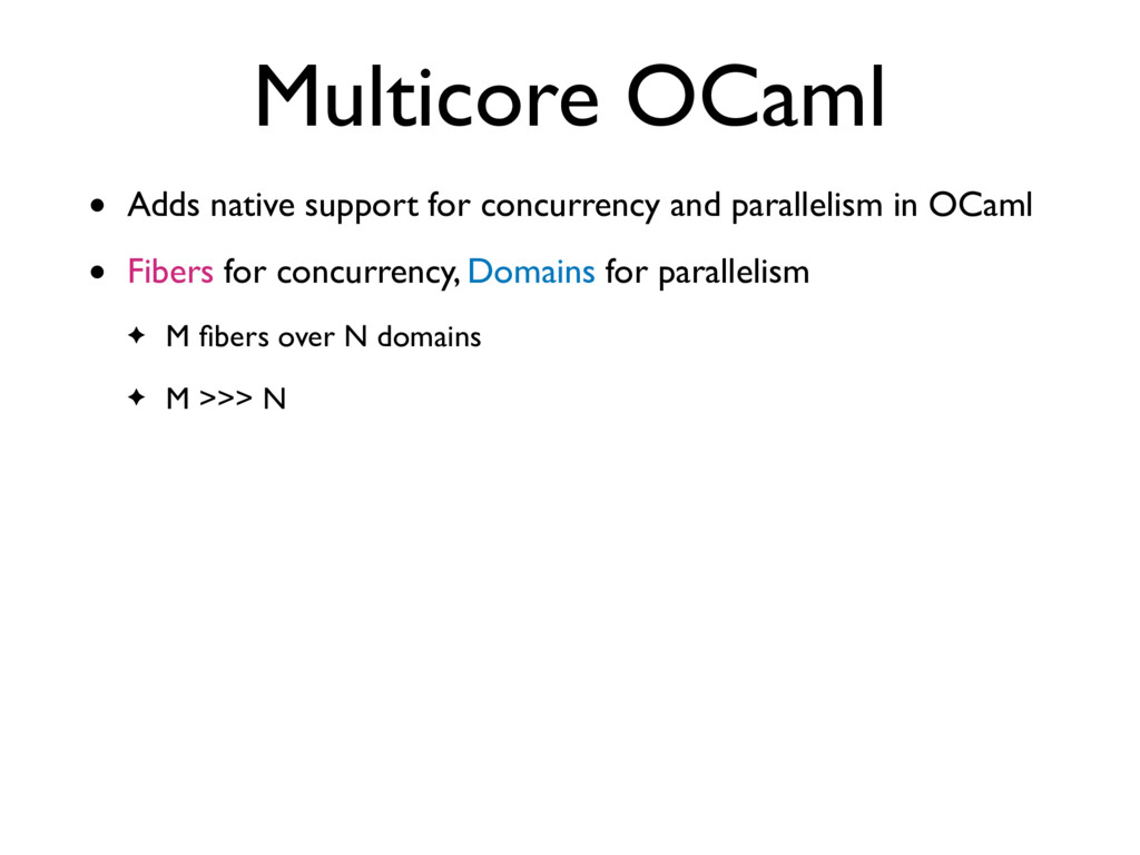 • Adds native support for concurrency and paral...