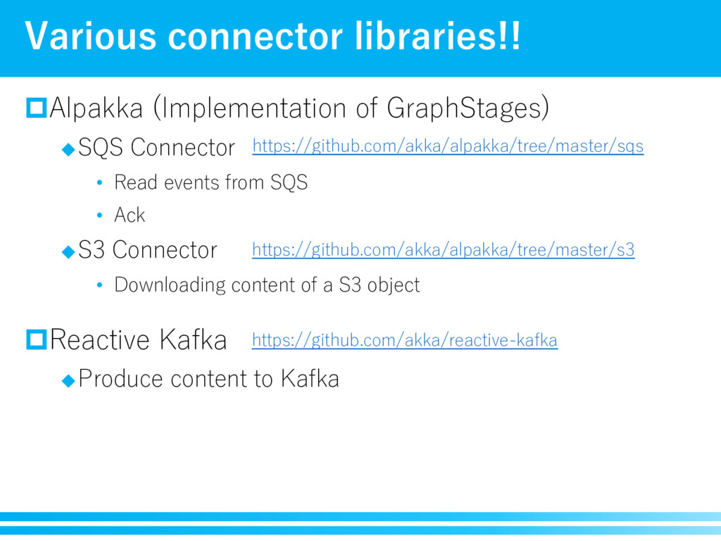 pAlpakka (Implementation of GraphStages) uSQS C...