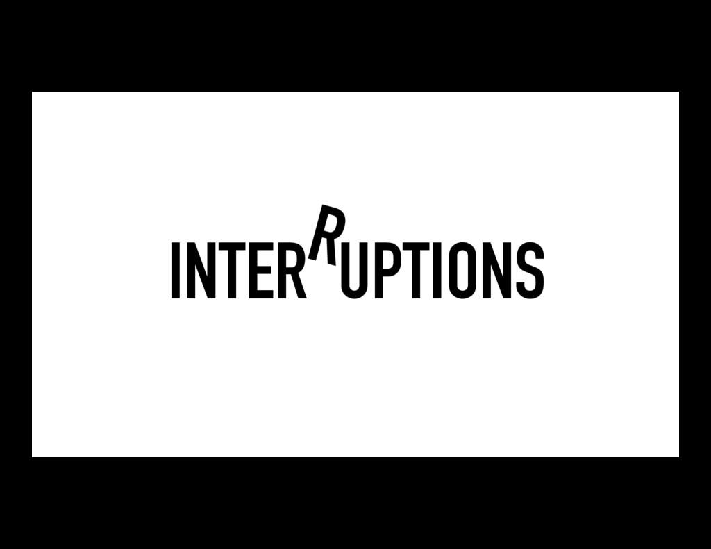 INTER UPTIONS R