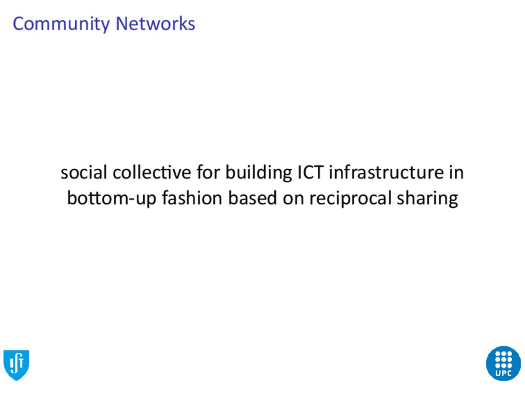 Community Networks social collec ve for buildin...