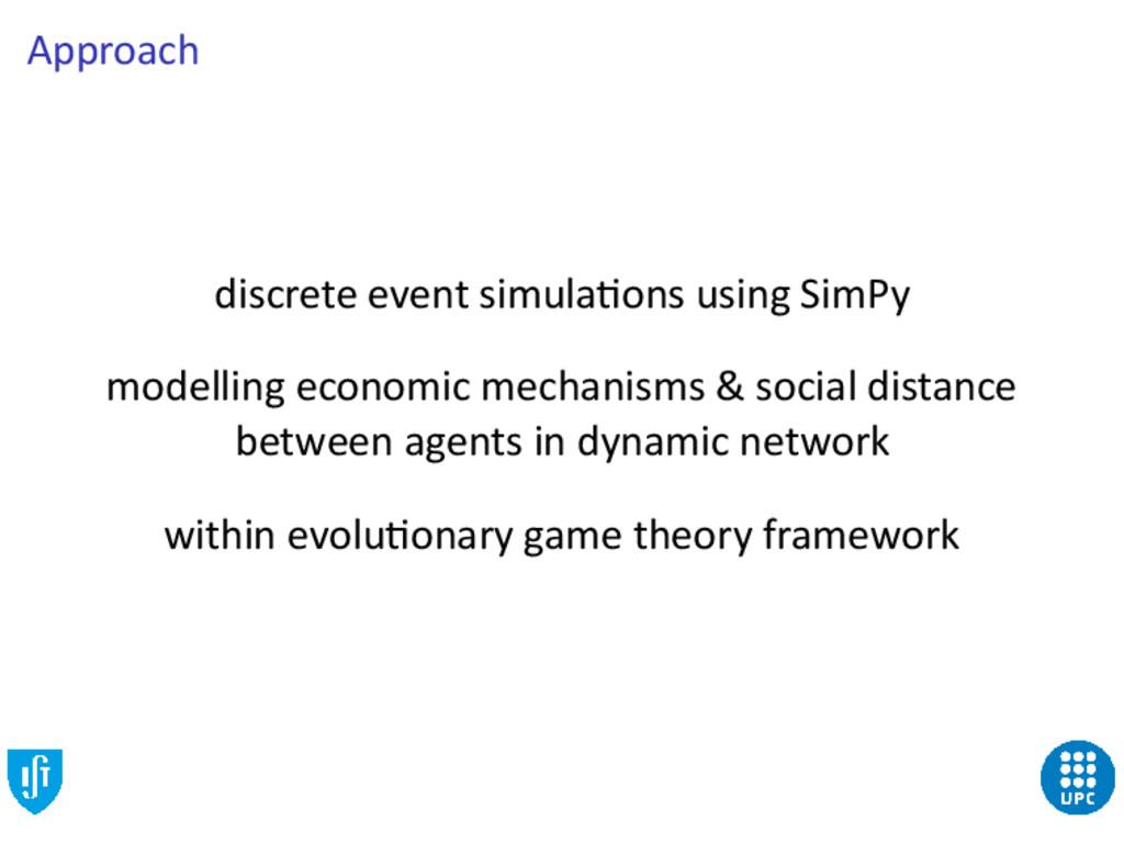 Approach discrete event simula ons using SimPy ...