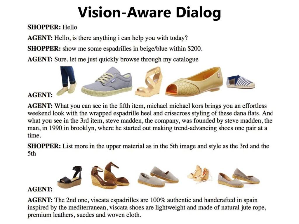 Vision-Aware Dialog
