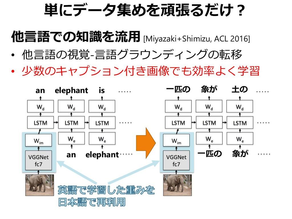 単にデータ集めを頑張るだけ? 他言語での知識を流用 [Miyazaki+Shimizu, AC...