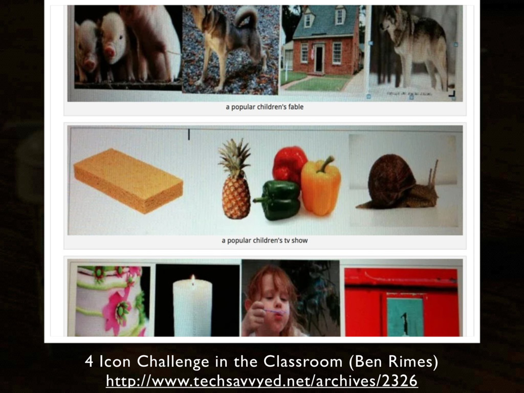 4 Icon Challenge in the Classroom (Ben Rimes) h...