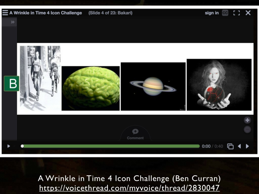 A Wrinkle in Time 4 Icon Challenge (Ben Curran)...