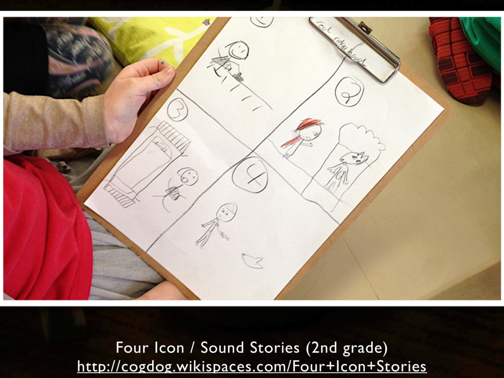 Four Icon / Sound Stories (2nd grade) http://co...