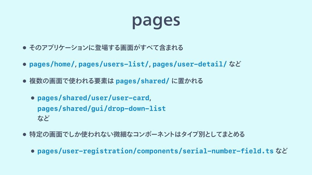 QBHFT w ͦͷΞϓϦέʔγϣϯʹొ͢Δը໘ؚ͕ͯ͢·ΕΔ w pages/home...
