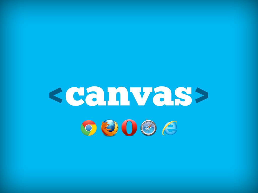 <canvas>