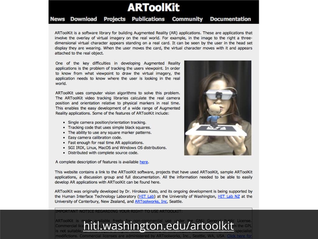 hitl.washington.edu/artoolkit