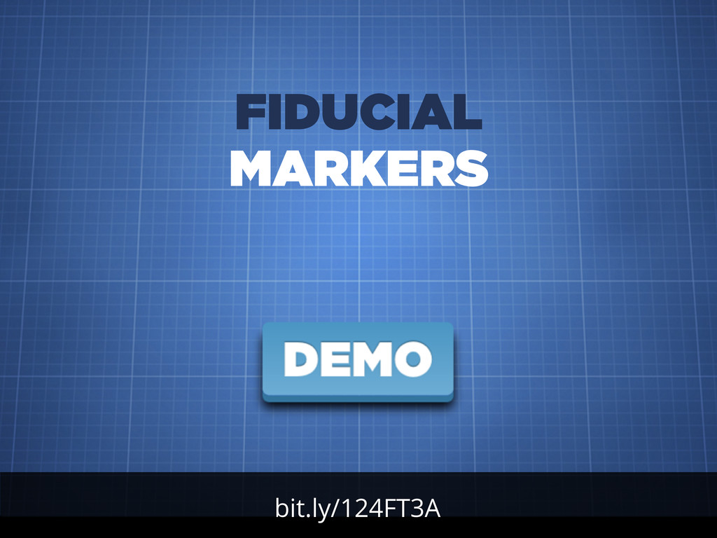 bit.ly/124FT3A FIDUCIAL MARKERS