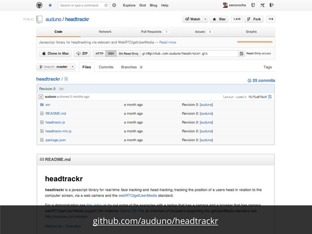 github.com/auduno/headtrackr