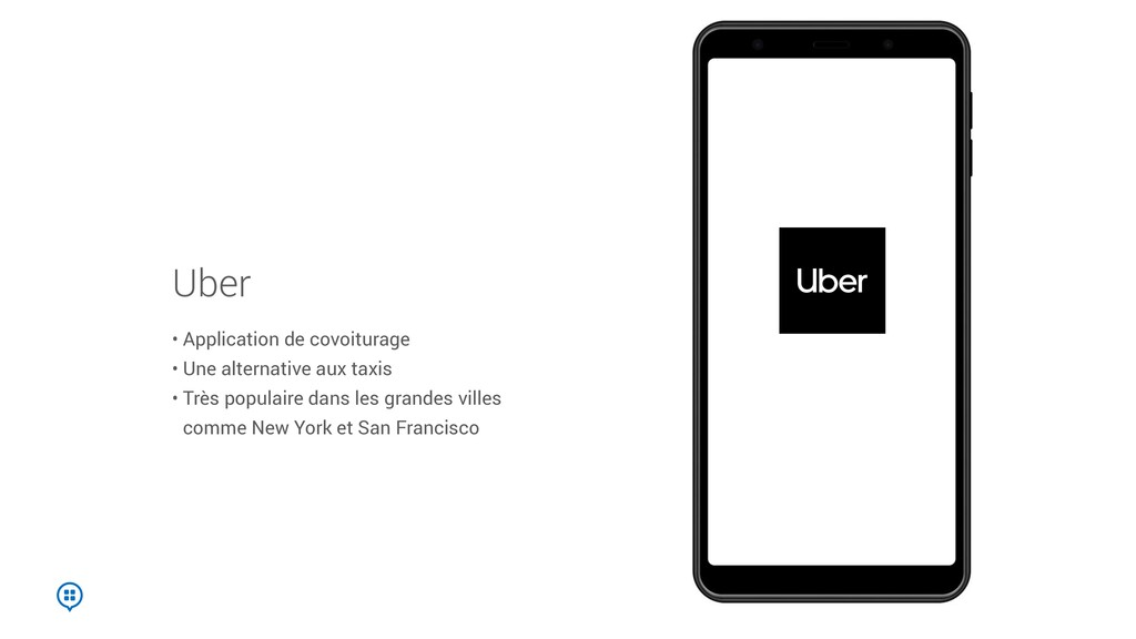 Uber • Application de covoiturage • Une alterna...