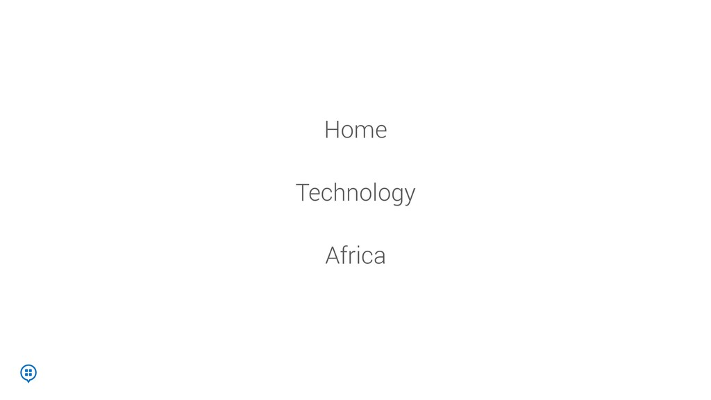 Technology Home Africa