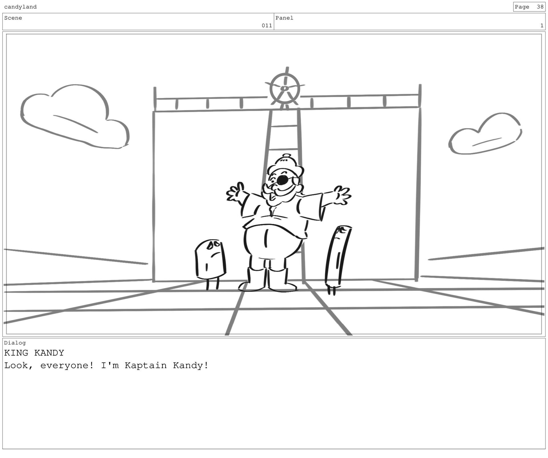 Scene 12 Panel 2 Dialog LORD LICORICE I will be...