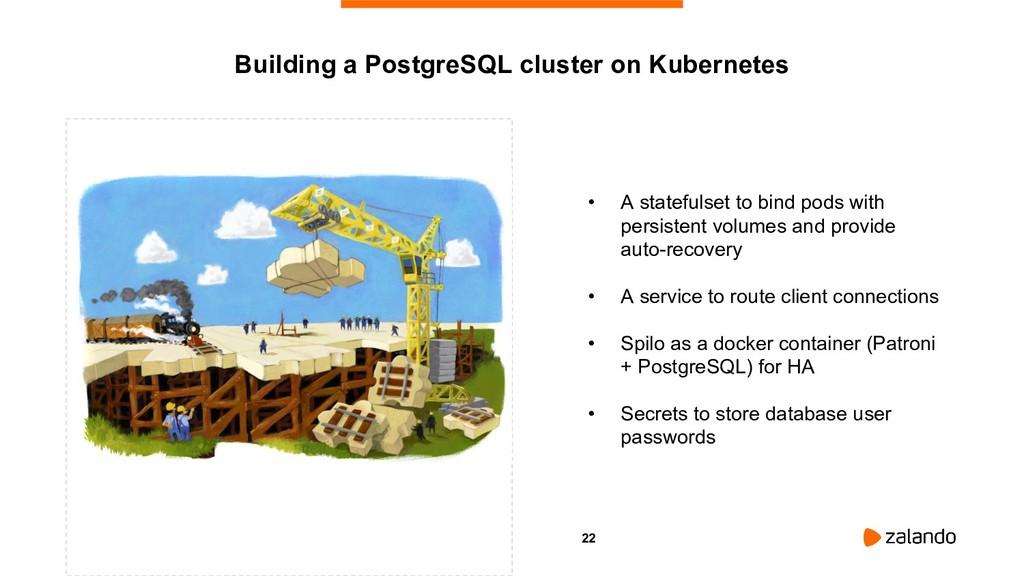 22 Building a PostgreSQL cluster on Kubernetes ...