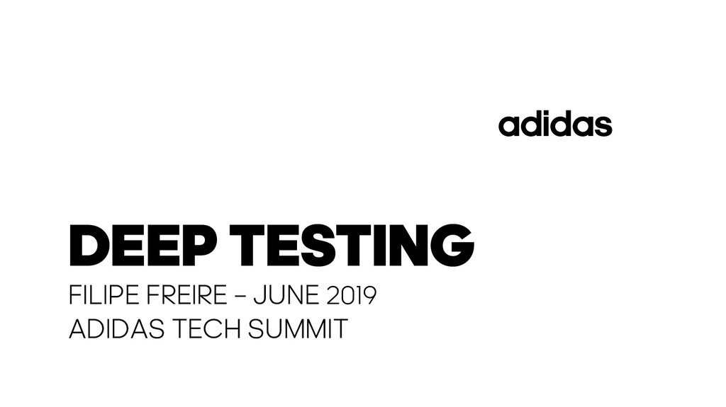 FILIPE FREIRE – JUNE 2019 ADIDAS TECH SUMMIT DE...